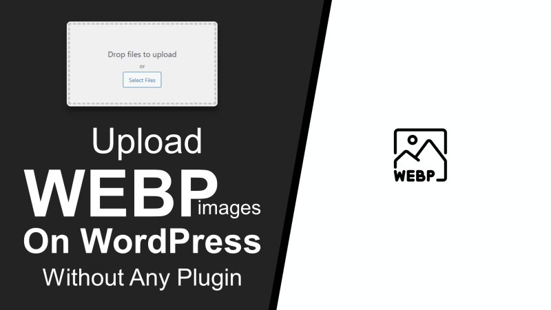 How to Upload WEBP images in WordPress (Without Any Plugins)